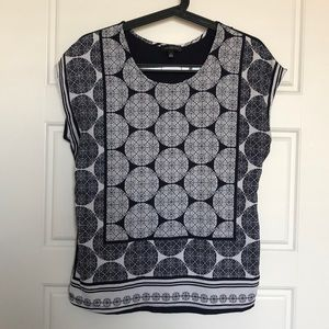 The Limited S pattern blouse